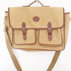 Ralph Lauren Canvas Laptop Briefcase Bag
